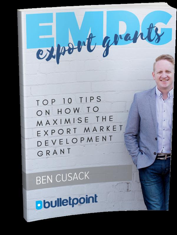 Export Market Development Grant