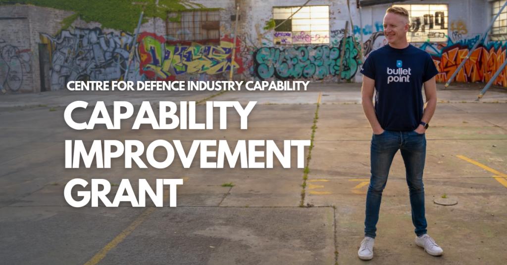 Capability Improvement Grant