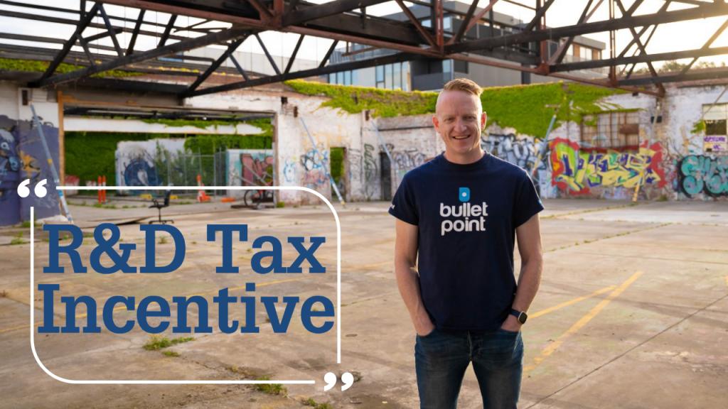 R&D Tax Incentive - Online Form