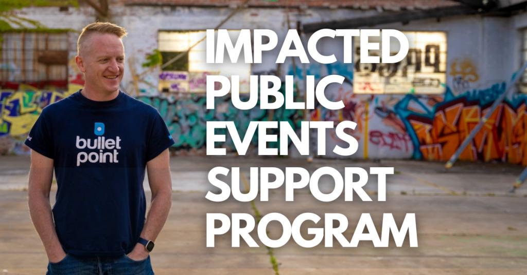 Impacted Public Events Support Program